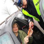 Dzień Kobiet z gołdapską drogówką 005