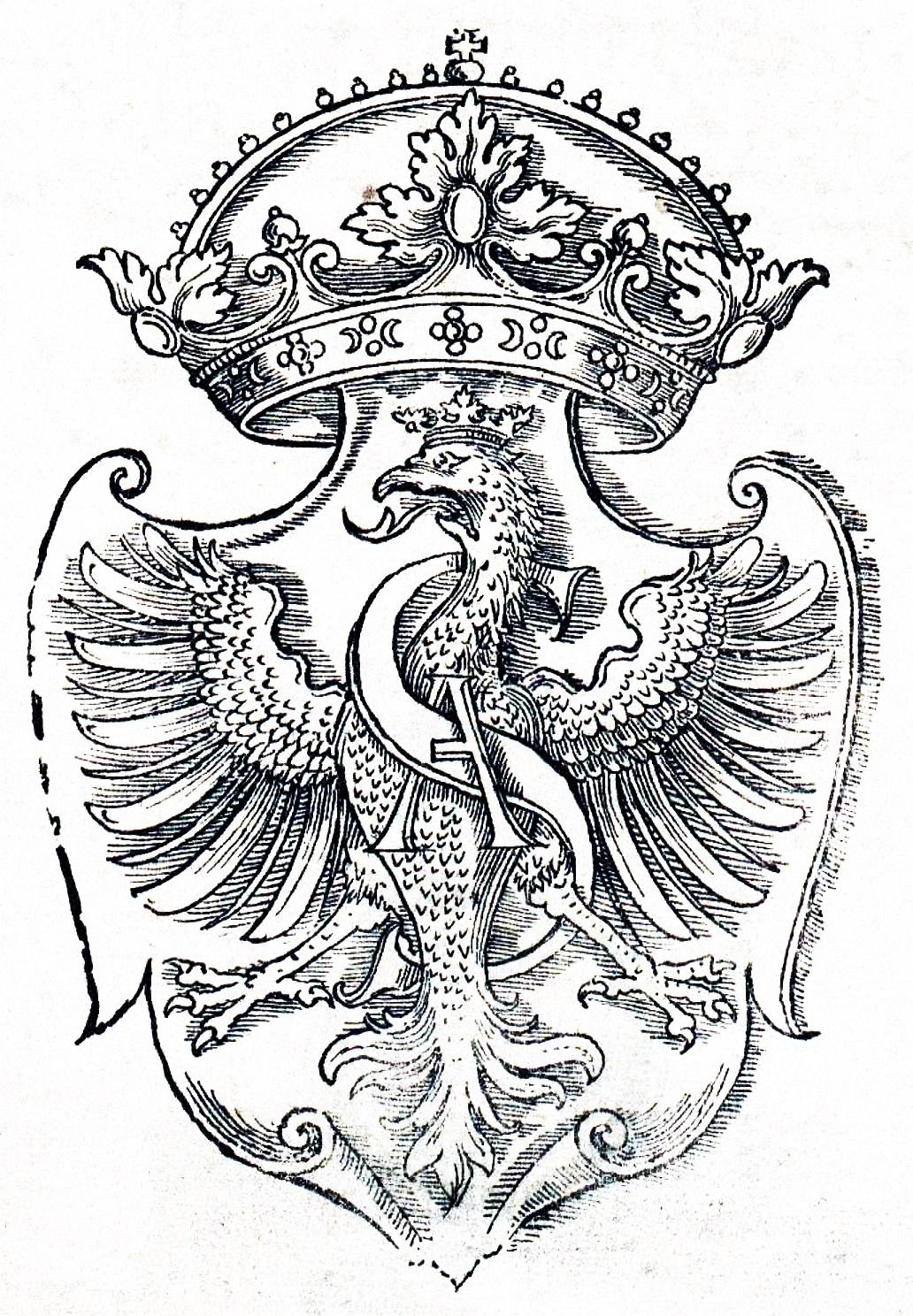 Orzeł Zygmunta Augusta 1551