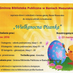 Plakat Wielkanocna Pisanka