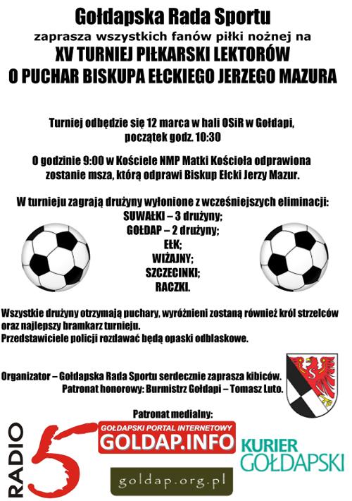 Turniej o Puchar Biskupa 2016