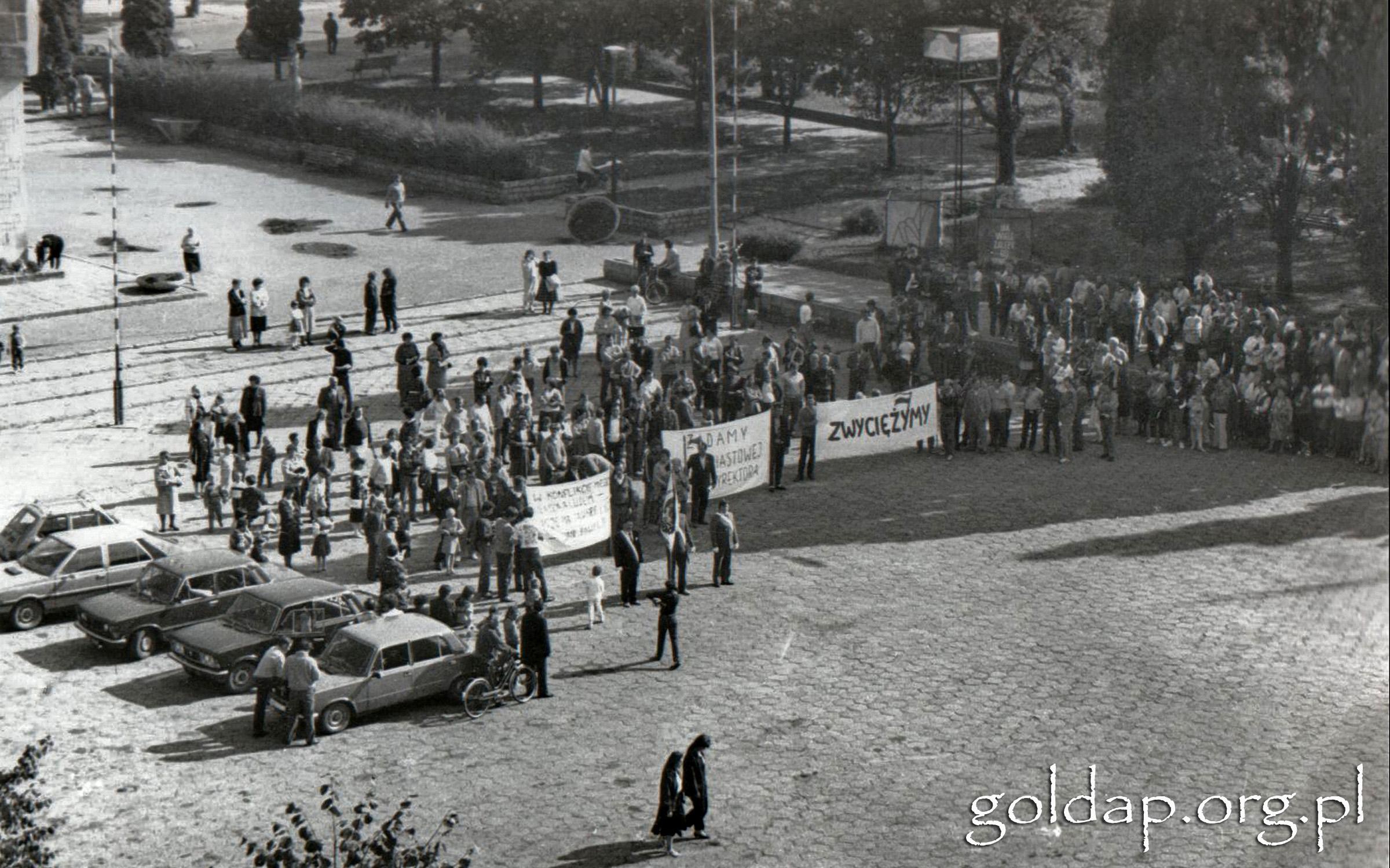 Gołdap plac 1989