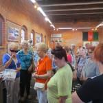Wizyta Uniwersytetu  III Wieku w Muzeum Ziemi Gołdapskiej _3