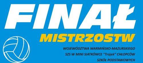 plakat final mistrzostw pilka siatkowa 2