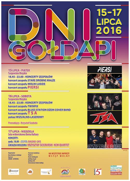 PLAKAT DNI GOLDAPI 2016 do internetu