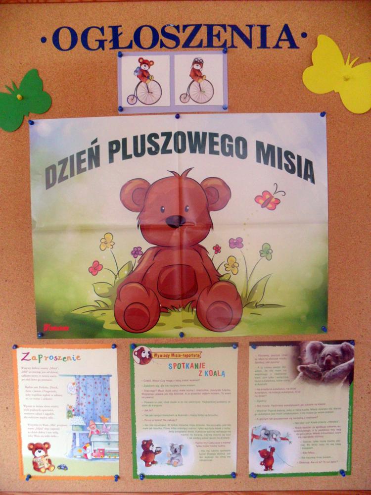 Dzień Pluszowego Misia W Przedszkolu Gołdap Goldaporgpl