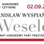 Narodowe czytanie – pieczęć z Kancelarii Prezydenta Rzeczypospolitej Polskiej