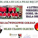 """W niedzielę zagrają – """"Jaćwingowie"""" Gołdap i """"Czarni"""" Olecko"""