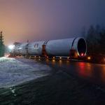 """Pierwszy taki """"mega-transport"""" z produktem wykonanym w Gołdapi"""