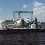 Kolejny etap oczyszczania jeziora