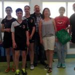 Gołdapscy pingpongiści zagrali w Starym Folwarku