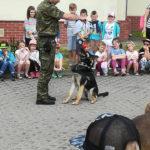 """Przyjaciele Przyrody z 1a z gołdapskiej """"Dwójki"""" informują: Jazda próbna w Straży Granicznej w Gołdapi…"""