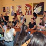 Bibliotekę Publiczną w Gołdapi odwiedziła grupa młodzieży z Malty