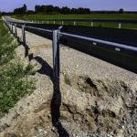 Droga Kośmidry – Rostek po ostatnich deszczach