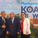 Liderzy PO i Nowoczesnej podpisali w Olsztynie porozumienie w sprawie wyborów samorządowych. Gołdapianin startuje do sejmiku