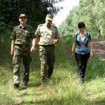 Pani Helga Riedel odwiedziła również gołdapskich funkcjonariuszy SG