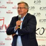 Spotkanie z Bronisławem Komorowskim. O wolności, niezależności sądownictwa, roli prezydenta RP…