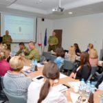 Funkcjonariusze SG zorganizowali konferencję dot. legalnego zatrudniania cudzoziemców
