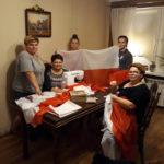 Flagi i piosenki patriotyczne przekazaliśmy gołdapianom