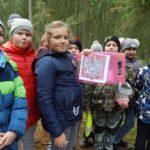 Gra terenowa o Niepodległej w lesie Kumiecie