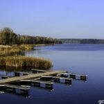 Dziś nad jeziorem Gołdap