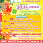 Zapraszamy na III Mistrzostwa Polski w układaniu puzzli