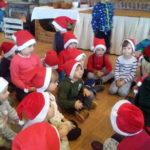 Pięciolatki z SP3 z wizytą u Mikołaja