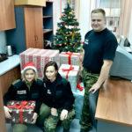 Świąteczne prezenty od funkcjonariuszy i pracowników Straży Granicznej