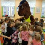 Sierżant Bóbr edukuje przedszkolaków