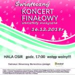 Zapraszamy na Świąteczny Koncert Finałowy