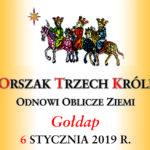 6 stycznia 2019 roku ulicami Gołdapi przejdzieOrszak Trzech Króli
