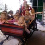 Czterolatki z wizytą w Przystani Świętego Mikołaja