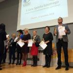 Szkołę wyróżniono za zajęcie VI miejsca w Województwie Warmińsko-Mazurskim