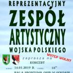 Zapraszają na koncert Reprezentacyjnego Zespołu Artystycznego Wojska Polskiego