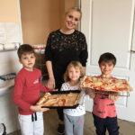 Dzień Pizzy w Oddziałach Przedszkolnych przy SP 3
