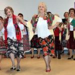 Uczestniczki sekcji muzycznej nie tylko śpiewały ale i tańczyły