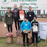 Uczniowie z Grabowa w biegu na orientację