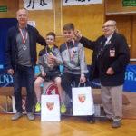 Mistrzostwa Polski: Gromek i Chilicki srebro w drużynie, brąz w deblu