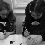 Praca z gliną sprawiła dzieciom ogromną frajdę