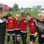Najmłodsi piłkarze dobrze wypadli w Barczewie