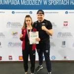 III miejsce Aleksandry Kożak na Ogólnopolskiej Olimpiadzie Młodzieży