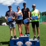 Z powodzeniem w tych zawodach uczestniczyli zawodnicy gołdapskiego PIORUNA