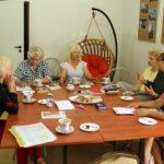 Wakacyjne spotkanie Dyskusyjnego Klubu Książki w Baniach Mazurskich