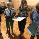 Pracują z grupami seniorów, na zajęciach wokalnych