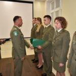 Uroczystość mianowania na stopień kaprala