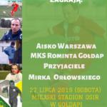 W sobotę VIII Turniej Piłki Nożnej im. Mirka Orłowskiego