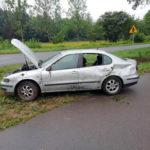 Straciła panowanie nad pojazdem