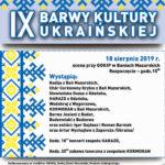 IX Barwy Kultury Ukraińskiej
