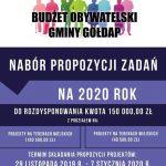 Rusza nabór wniosków do Budżetu Obywatelskiego na 2020 rok!