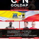To już ostatnia prosta do 6. edycji gali Gołdap Fight Night!