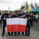 Policjanci pobiegli w sztafecie z okazji obchodów Święta Niepodległości